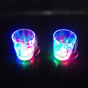 כוס צייסר אורות מחזיק מפתחות