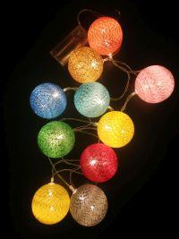 שרשרת כדורים אורות-במבי הפתעות