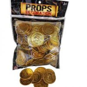 מטבעות פירטים-הפתעות ליום הולדת