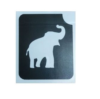 שבלונה לקעקועים פיל