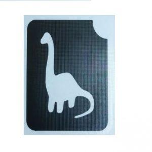 שבלונה לקעקועים דינוזאור