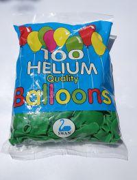 100 בלון ירוק