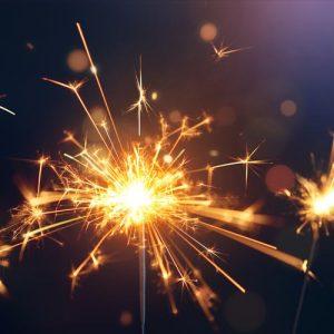 נרות וזיקוקים ליום הולדת