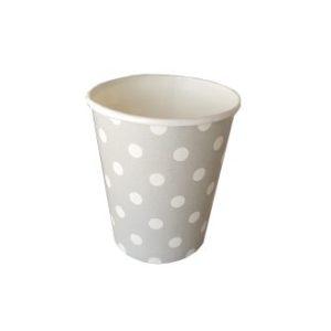 כוס חם קר אפור עם נקודות-במבי הפתעות