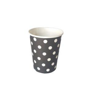 כוס חם קר שחור עם נקודות-במבי הפתעות